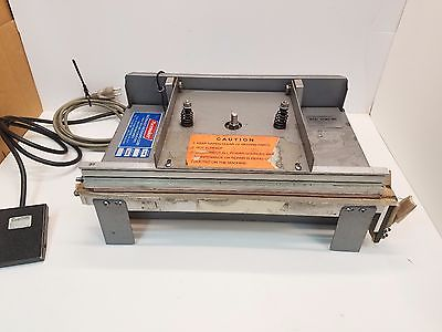 Pacemaker 214BTBO Tabletop Jaw-Type Bag Sealer Packaging Machine w/Foot control