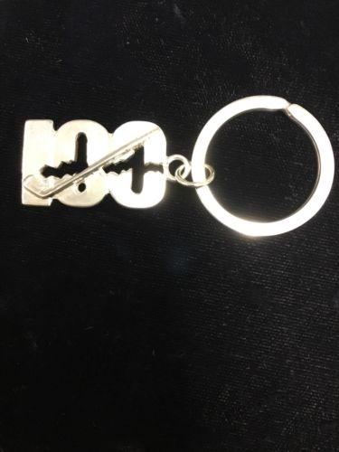 Sterling Silver Break 100 Key Chain