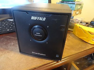 Buffalo Drive station Quad HD-QH8TU3R5 4 Bay NO HARD DRIVES