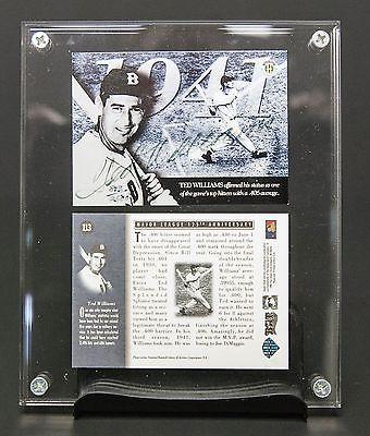 TED WILLIAMS SIGNED UPPER DECK AUTHENTICATED 1994 RED SOX HOF MLB 125TH CARD