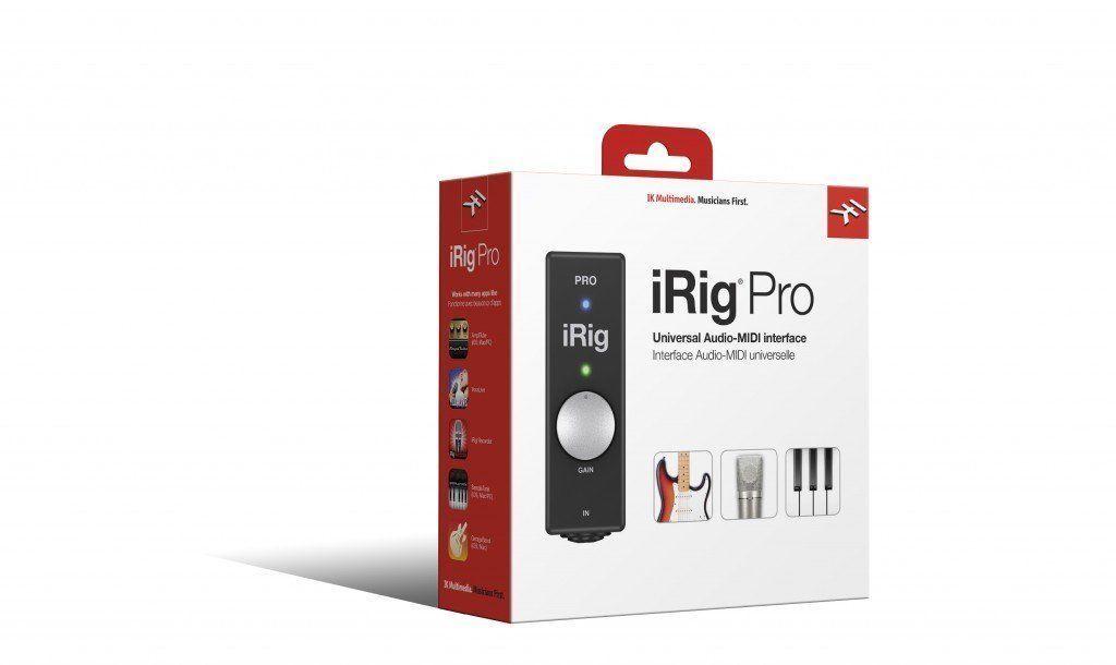 IK Multimedia - iRig Pro USB/MIDI Audio Interface - Black