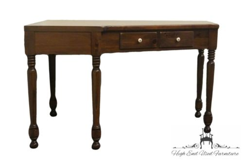 ETHAN ALLEN Antiqued Pine Old Tavern CRP Corner Desk 12-4072