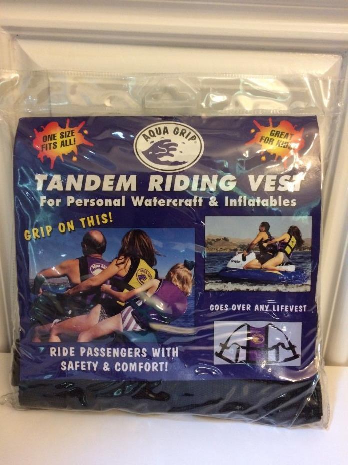 Aqua Grip Tandem Riding Vest - One Size Fits All!