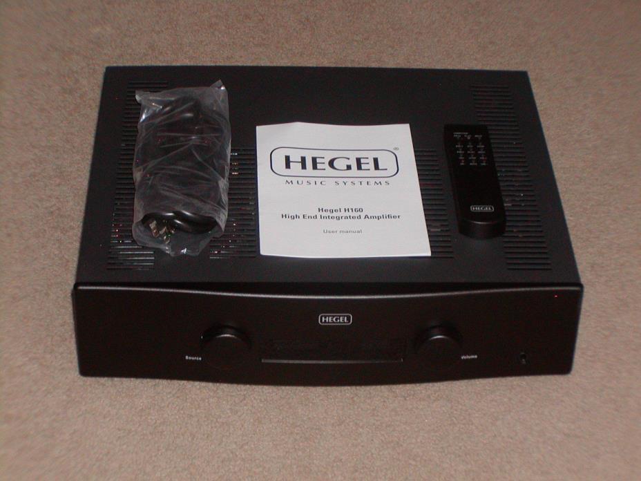 Hegel H160 Integrated Amplifier,