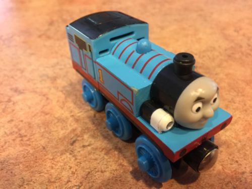 Authentic Learning Curve Wooden Thomas Train Lights & Sounds Talking Thomas!
