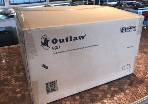 New! Outlaw Audio Preamplifier Model 990 EXCELLENT WORKING CONDITION
