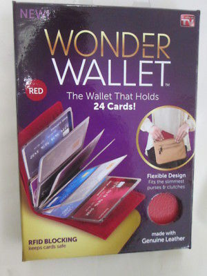 Wonder Wallet RFID wallet Keep your cards safe! AS SEEN ON TV BRAND NEW!