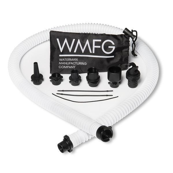 Premium WMFG Pump Hose & 6 Nozels for Kite/SUP Pumps -- NEW