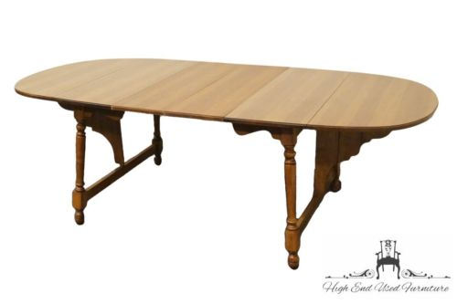 TELL CITY Young Republic Butterfly Drop Leaf Dining Table F-8154