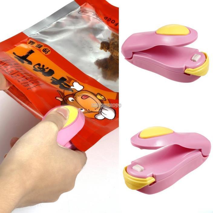 New Portable Kitchen Tool Sealing Handheld Machine Mini Heat Sealer ER99