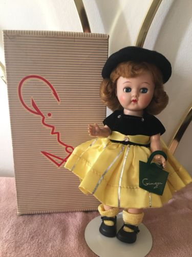 Spectacular 1950's Cosmopolitan Doll Ginger - Straight Leg Walker - MIB