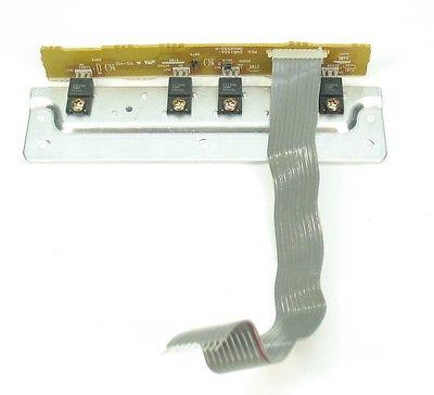 Pioneer DJM-600 Repair Part - REGULATOR PCB BOARD DWR1334 w Ribbon Cable CIRCUIT