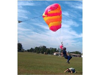 Skydiving Sport Parachute -  Viper 9 cell 105 Sq Ft