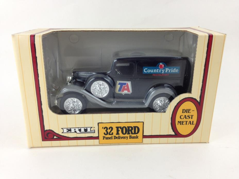 ERTL Die-cast Coin Bank 1932 Ford Panel Delivery Truck TA Country Pride Rare MIB