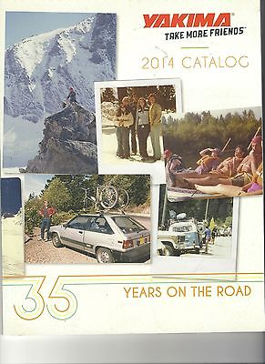 2014 Yakima Catalog Brochure 75 Pages MinT Includes Decal/Stickers + Price List!