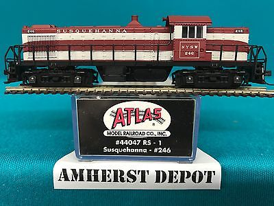 44047 Atlas N Scale RS-1 Susquehanna Engine NIB