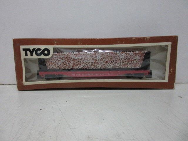 Tyco Wood Pulp Flatcar w/Original Box