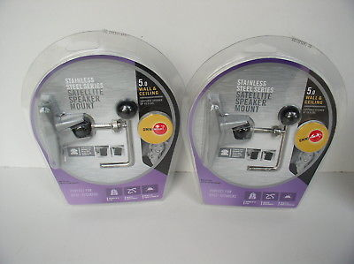 OmniMount 5.0 Wall and Ceiling Audio Mount Pair NEW
