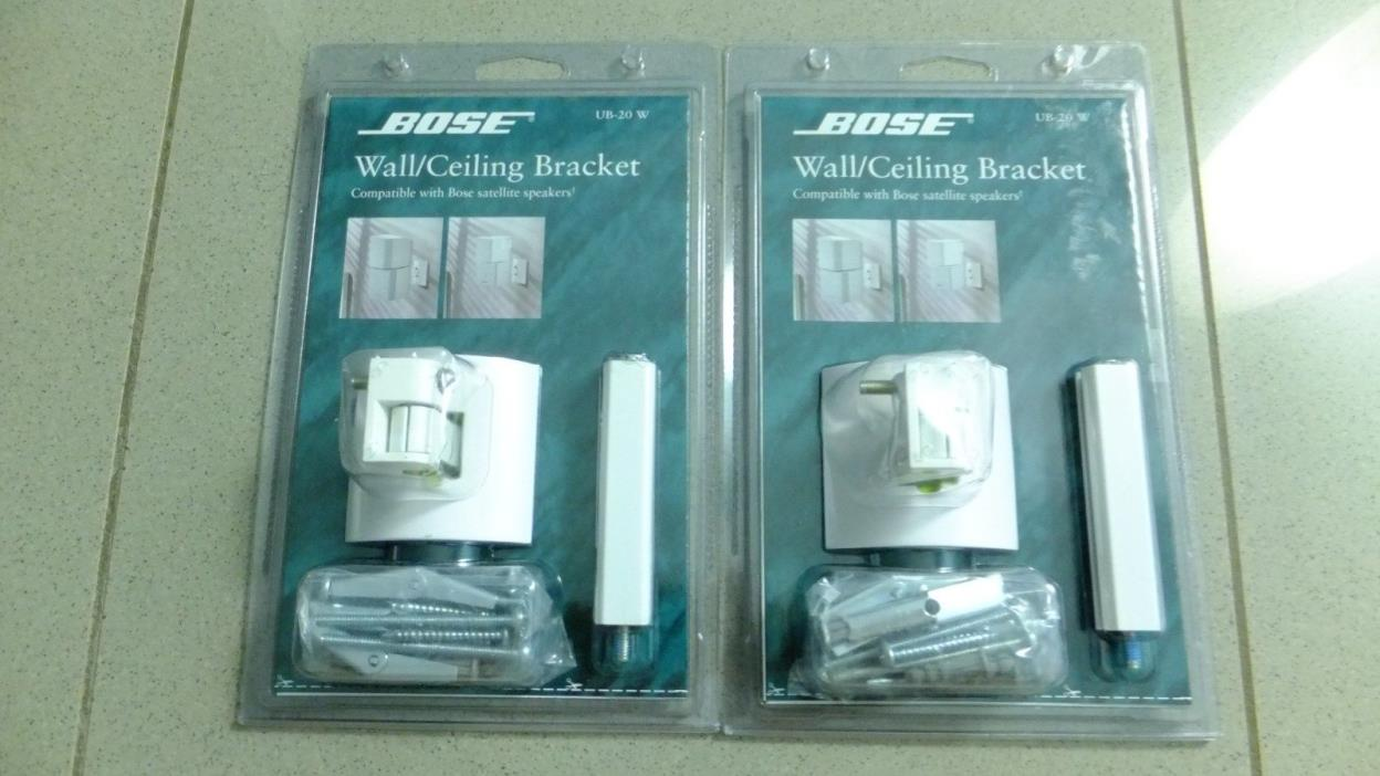 Lot of 2 Bose Wall/Ceiling Brackets UB-20W