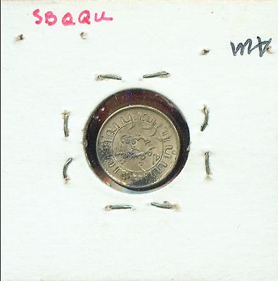 MALASIA (NETHERLANDS EAST INDIES) 1942S 1/10 GULDEN AU/BU (2G705) .720 SILVER z