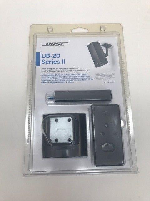 Bose UB-20 Series II Wall/Ceiling Bracket - Each (Black)