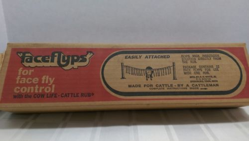 Faceflyps for face fly control Made for cattle