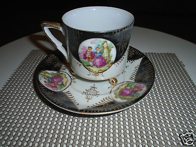 Tea Cup and Saucer, Royal Sealy China Japan 2 pc set