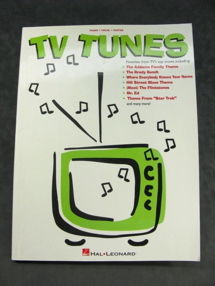 VTG 90's Hal Leonard TV TUNES Music Book 43 Old Favorites Brady Bunch Star Trek