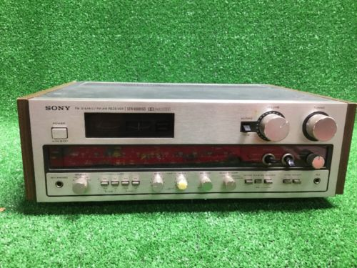 ORIGINAL GENUINE SONY AM FM STEREO RECEIVER STR-6800SD 6800 SD Vtg Japan Fast Sh