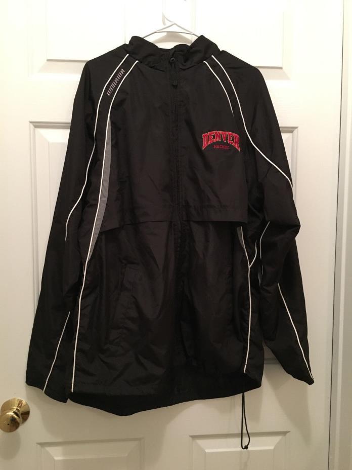 University of Denver Pioneers Men's Ice Hockey Team Issued Warmup Jacket XL