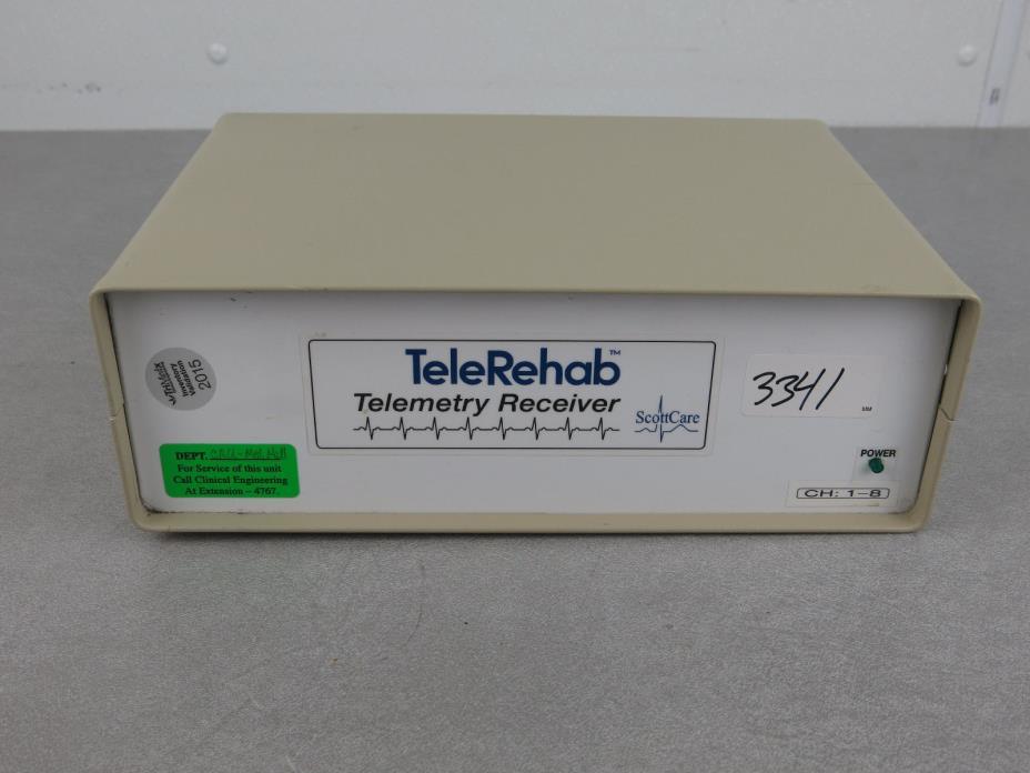 TeleRehab Telemetry Receiver ScottCare TR608 TR 608