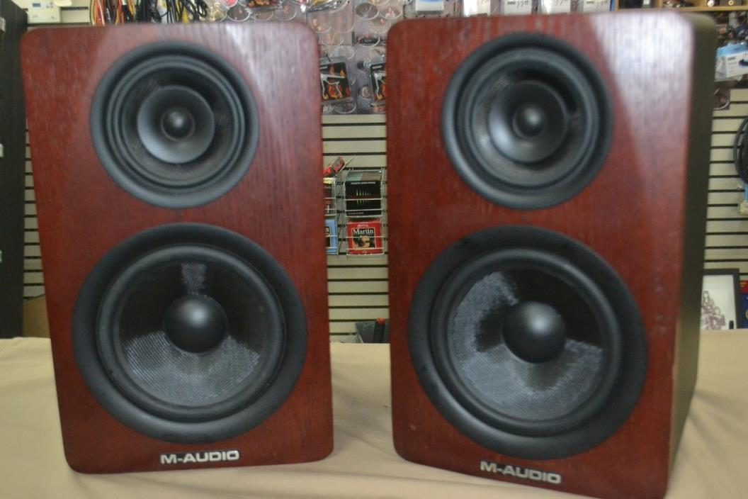M-Audio M3-8 8 inch Monitor Speakers FREE SHIPPING