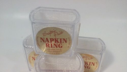 Napkin rings for needlepoint set of 4