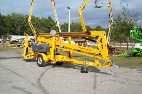 Haulotte 5533A 61' Work Height Towable Boom Lift, 33' Outreach, Former Bil Jax