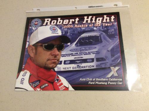 Robert Hight 8 X 10 Card