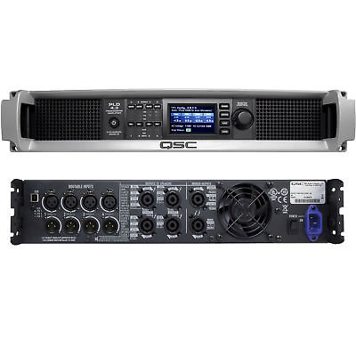 QSC PLD 4.3 Touring Amplifier PLD4.3 4 Channel Power Amp with Digital Processing