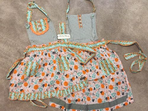 NWT Matilda Jane Joanna Gaines Mom & Daughter Set Girls Apron New With Tags