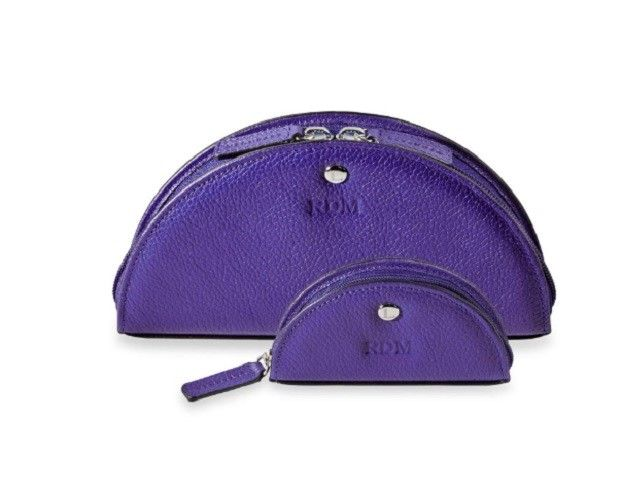 LEVENGER LUNA POUCH SET-PURPLE