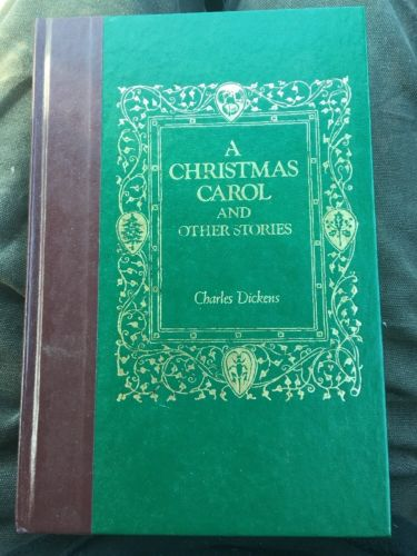 A Christmas Carol And Other Stories by Charles Dickens Readers Digest Book 1988