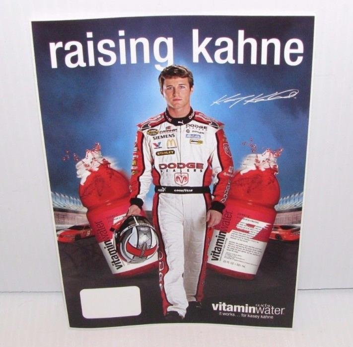 KASEY KAHNE VITAMIN WATER STICKER 5 X 7 NASCAR