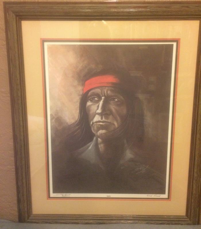 Artist Bob Snead's artist's proof
