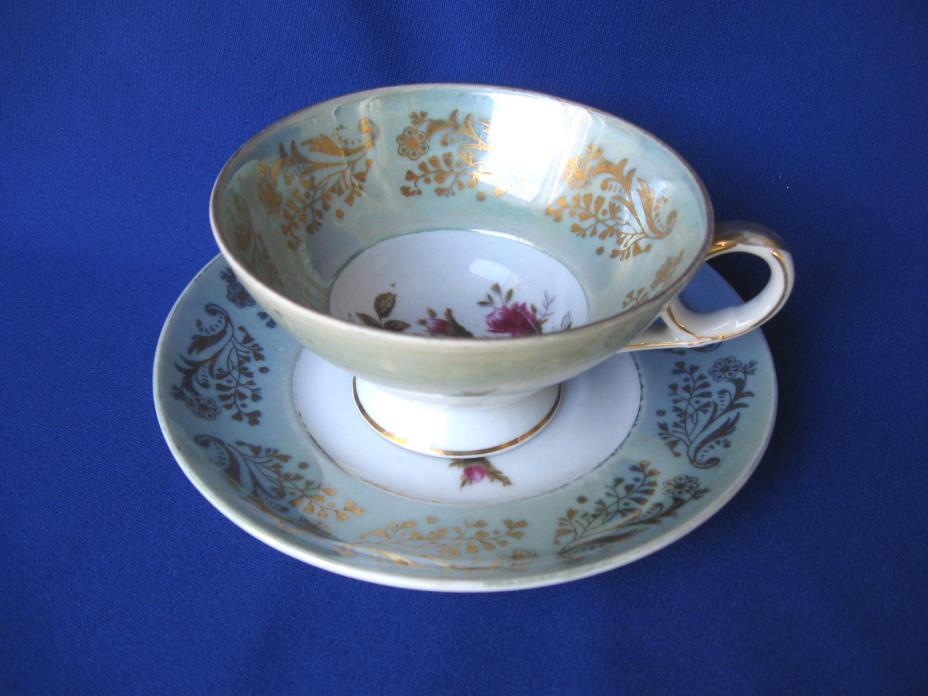 Beautiful Vintage Tea Cup and Saucer - Royal Sealy - Japan