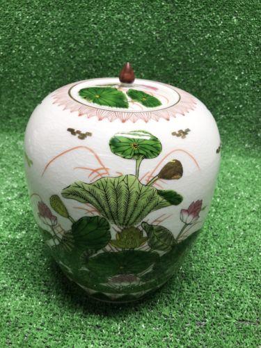 Kutani Seize Old Kutani Reproduction 1654-1663 Hand Painted Lily Vase Beautiful