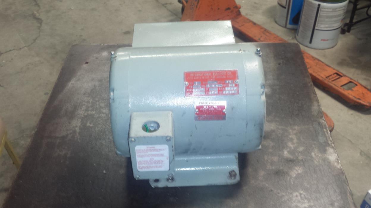 Rotary Phase converter 2HP