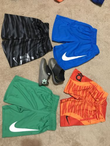 Nike Dri-Fit Toddler 2t Boys Shorts & shoes 8c lot