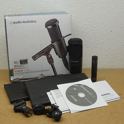 Audio Technica AT2041SP Studio Microphone Pack AT2020, AT2021 Condenser MINT