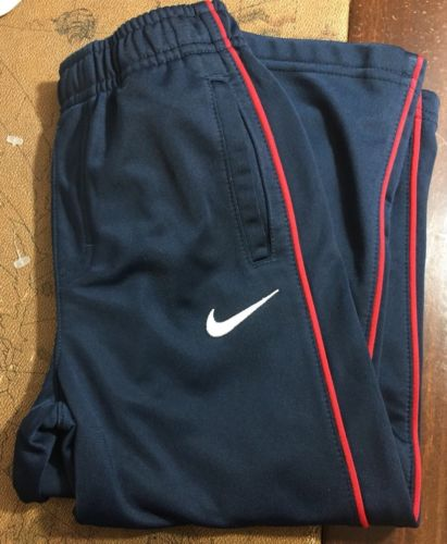 Nike - Toddler Boys Athletic Stretch Pants - Size 3T - Navy Blue Polyester