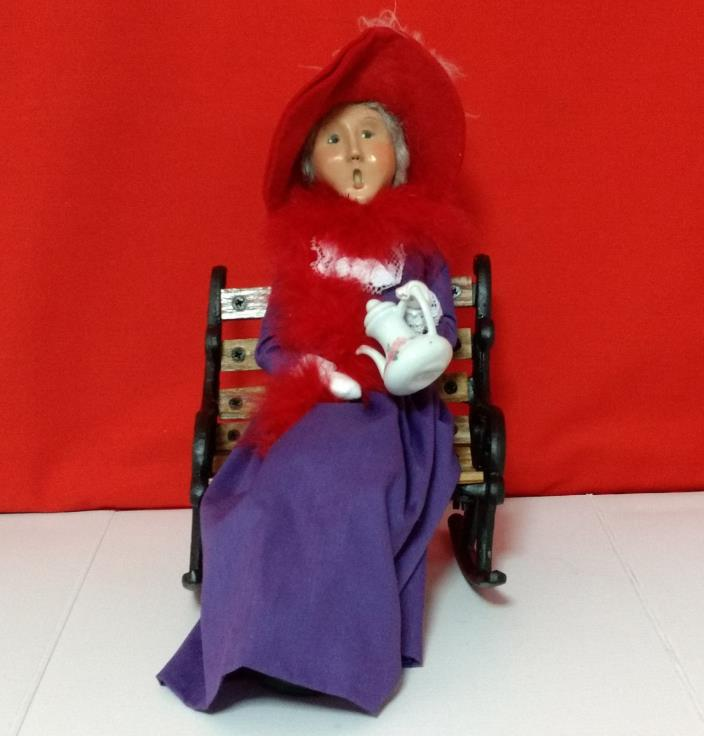 Byer's Choice 2004 Red Hat Society Lady