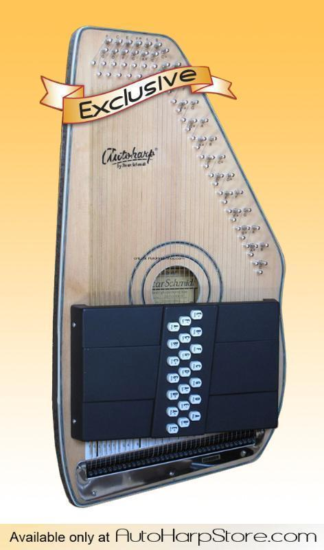 Oscar Schmidt OS120CNE Acoustic/Electric Autoharp with Free Tuner