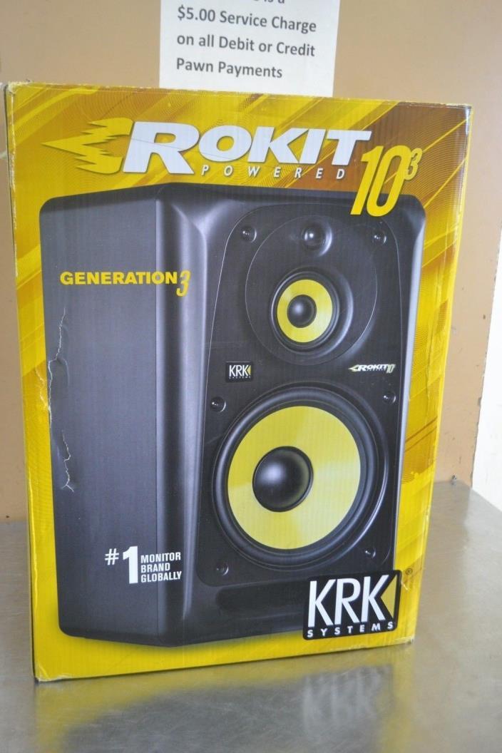 KRK Rokit Powered 10-3 Generation 3 Speaker Monitor RP10-3